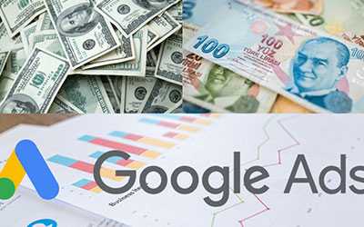 تبلیغ در گوگل با لیر یا دلار