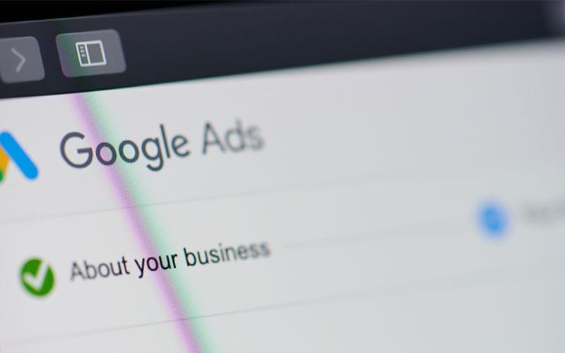 واژگان تبلیغات در گوگل